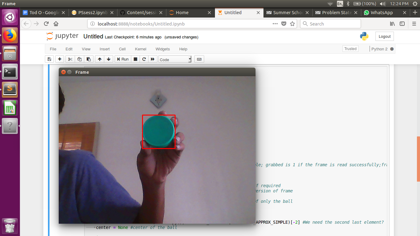 Problem Statements on basic OpenCV CVI
